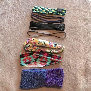 7 Headbands!